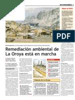 El Peruano_AMSAC-Remediacion La Oroya_12.11.2009