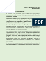 1.2 Corrientes Del Pensamiento Feminista