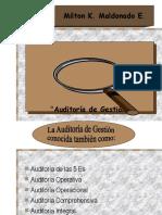 Metodología Auditoría de Gestión