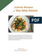 General eBook Quality Health Low Cal Slim Down eBook