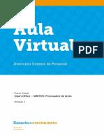 Manejo de Open Office Writer - Modulo 3