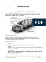 Automotive Sensors & Transdusers