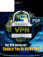 The VPN Checklist Should You Be Using One