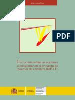 2011 02 21 Proy Orden Instruccion Proy Puentes Carreteras