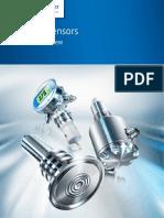 Baumer Product Overview Process Sensors CT en 1509 11148152
