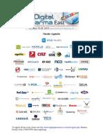 Digital Pharma East Onsite Agenda