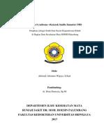 (BST) Alifandi Katarak Senilis Immatur ODS