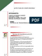 Tecnicas de Transferencias