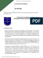 Calculando El FCAS