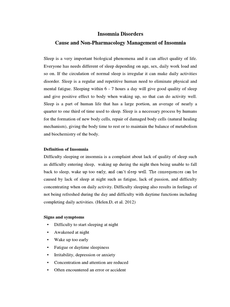 insomnia disorders.docx | insomnia | relaxation (psychology)