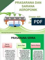 Prasarana Dan Sarana Aeroponik