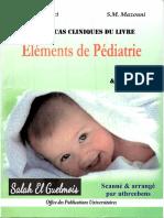 Elements de Pediatrie - QCM Et CCQCM