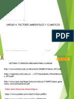 Unidad 4- Factores Ambientales