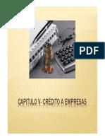 (Microsoft PowerPoint - Capitulo v- Cr_351dito a Empresas)