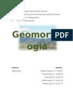 Trabajo de Geomorfologia
