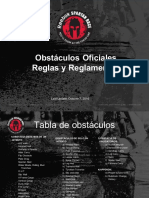 SR2017 Obstacles Rulebook