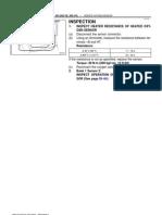 Inspeccion Sensor de Oxigeno Hilux