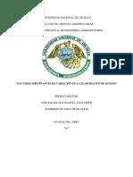 Informe en APA