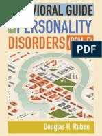 Behavioral Guide to Personality Disorders - (DSM-5) (2015) by Douglas H. Ruben