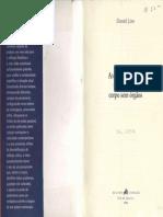 LINS, Daniel. Antonin Artaud o Artesão Do Corpo Sem Órgãos