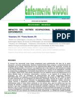 2 - Impacto del estrés ocupacional y Burnout en Enfermeros