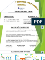 Jaypee Cement Plant Grinding Uniit-3