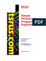 Kit 81 Simple PICMicro Programmer 2002