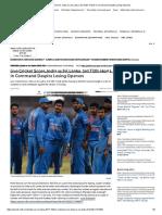 Live Cricket Score, India vs Sri Lanka, 3rd T20I_ Hosts in Command Despite Losing Openers