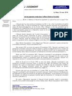 Karadzic 2017 Judgement Summary