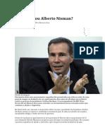 Quem Matou Alberto Nisman