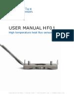 High Temperature Heat Flux Sensor