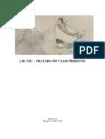 Tratado Do Vazio Perfeito - Lie-Tzu