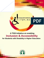 Inclusion and Accessibility in Higher Education TISS report