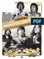 O Livro Dos Mortos Do Rock - Revelações Sobre a Vida e a Morte de Sete Lendas Do Rock 'n' Roll – David Comfort