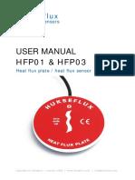 Heat Flux Plate Sensor