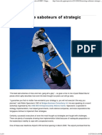 Arresting the Saboteurs of Strategic Change