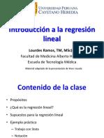 2017-2 Introduccion Regresion Lineal