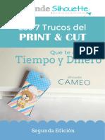 eBook 7 Trucos Del PrintandCut AprendeSilhouette