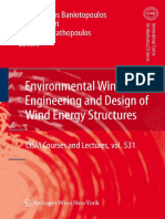 Charalambos C. Baniotopoulos, Claudio Borri, Theodore Stathopoulos - Environmental Wind Engineering and Design of Wind Energy Structures