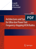 Emanuele Lopelli, Johan van der Tang, Arthur H.M. van Roermund - Architectures and Synthesizers for Ultra-low Power Fast Frequency-Hopping WSN Radios.pdf