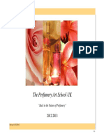 Perfumery Art School Brochure