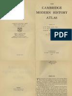 The Cambridge Modern History Atlas (1912)