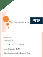 RP Hidden Markov Models