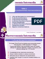 MAI09 T02 Escuelas Macroeconomía