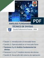 Análisis Fundamental y Técnico de Divisas Sesión 3
