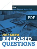 2017 AICPA Released Questions for the financial section (FAR) in PDF