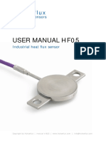 Industrial Heat Flux Sensor