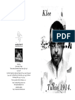 Paul Klee-Putovanje u Tunis, 1914