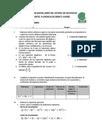 Examen Extraordinario Matematicas 2 Dos Tantos