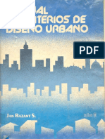 Manual de Criterios de Disec3b1o Urbano Jan Bazant s